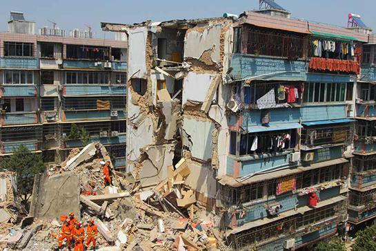 奉化塌楼:谁让中国楼房如此短命? - 独上高楼 - 止于至善