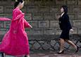 朝鲜女钟爱中国假货