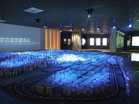 济南西客站片区规划展示馆开馆 附图高清图片