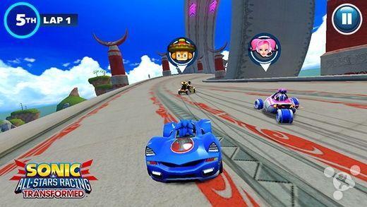 《索尼克全明星赛车:变形》领跑世嘉新作