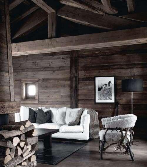 心中的童话小屋系列——小木屋客厅设计