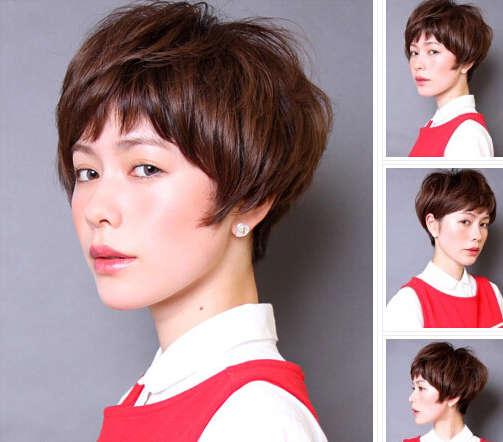 短发发型图片2014女 甜美灵动最in图片