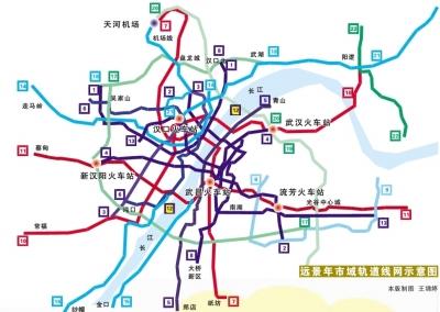 阳逻地铁线路图