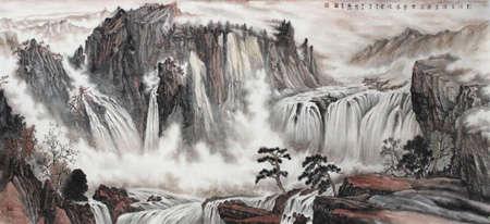 中国书画名家王凤江艺术人生访谈录图片