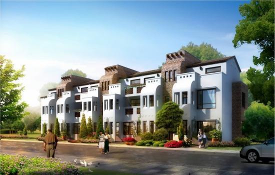 别墅  安宁温泉半岛花园独栋别墅,双拼别墅,联排别墅,洋房现房在售.