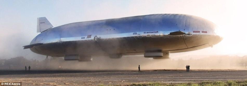 飞艇:可载重250吨 - 小舟 - 陈成洲科学幻想曲