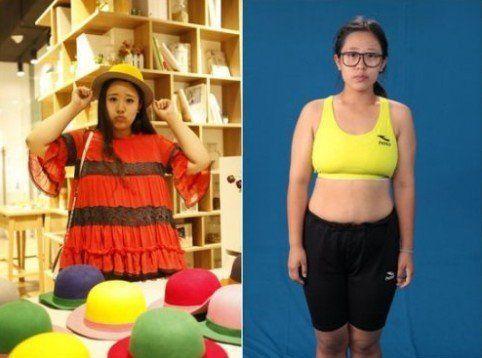 210斤最美女胖子减肥得胜却遭吐槽:不会再爱了(图)