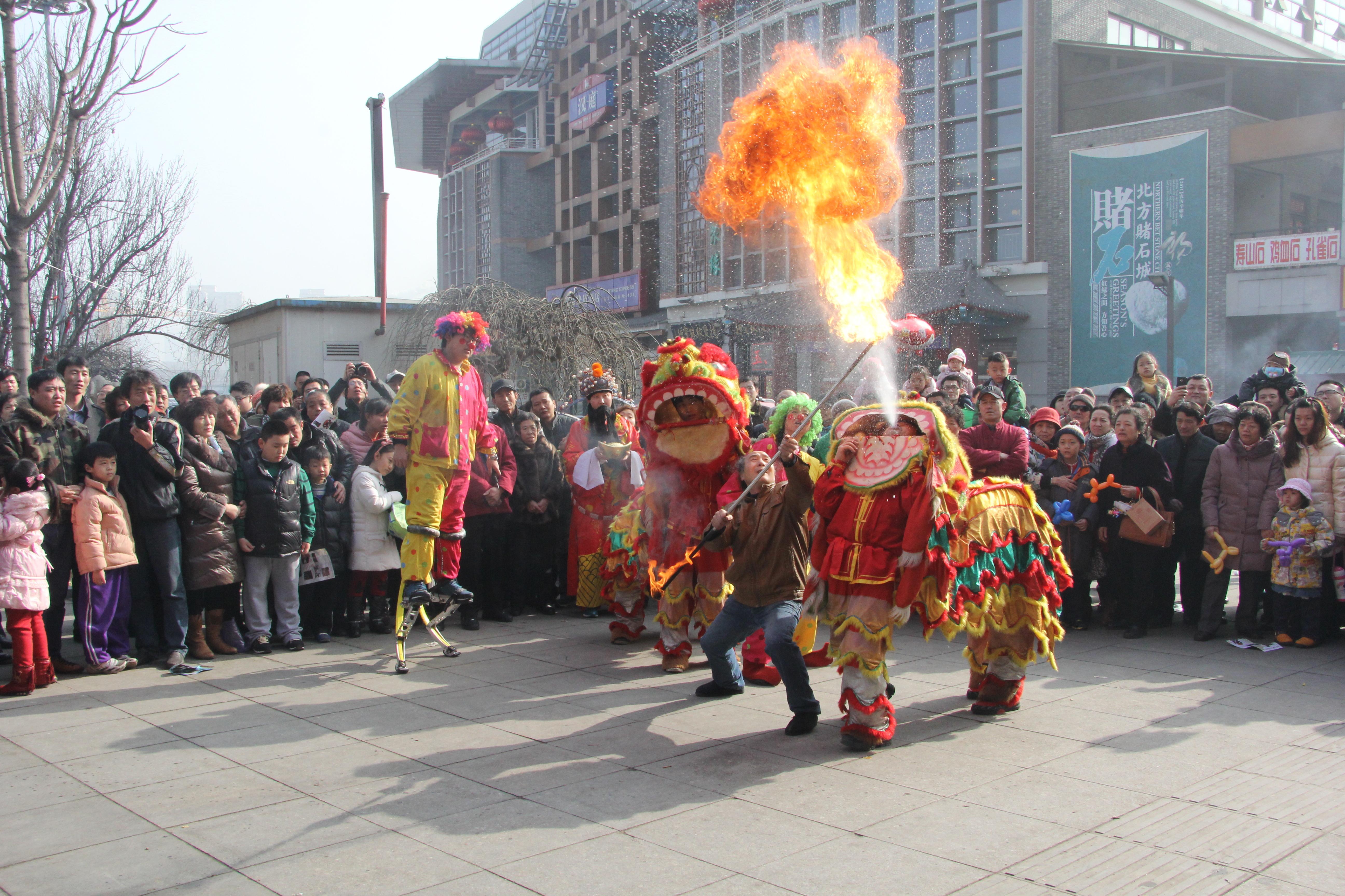 中华民族优秀传统文化系列活动在古文化街举行