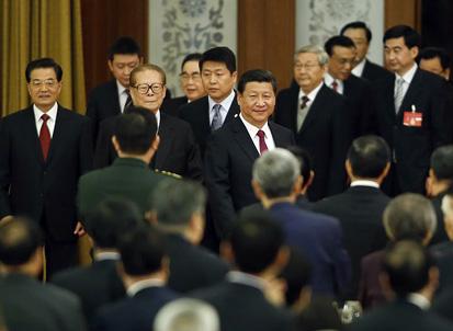 杜平:中共三任总书记同时亮相 意义特殊