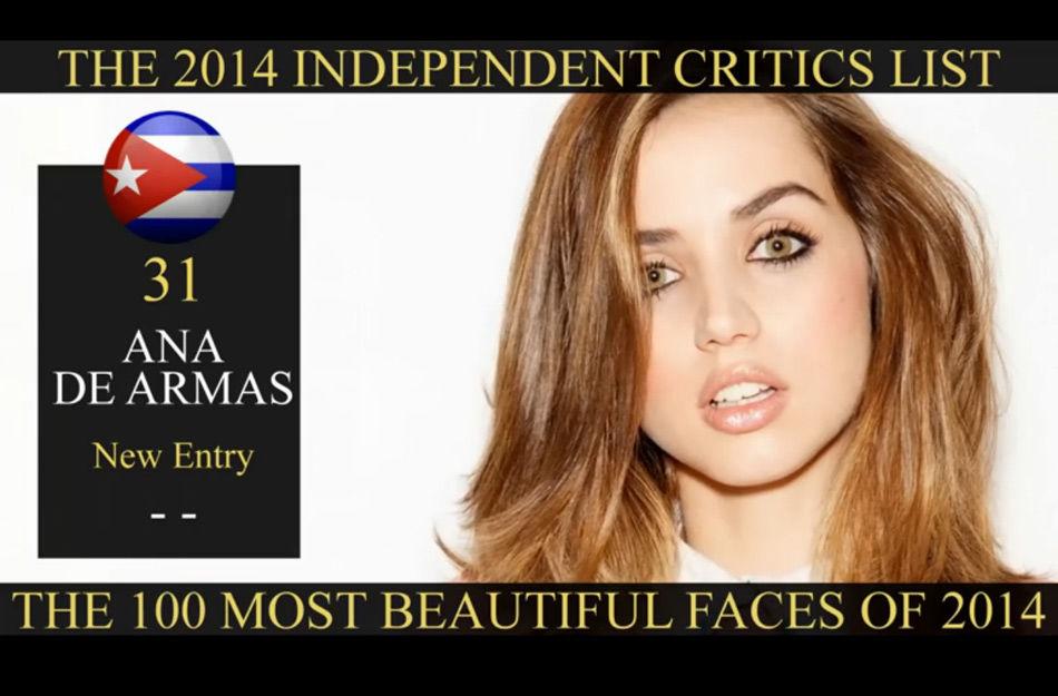 全球美女榜百强出炉 最美华人排名落后高清大