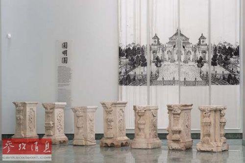 这7根圆明园石柱将于2014年秋天被送回中国。