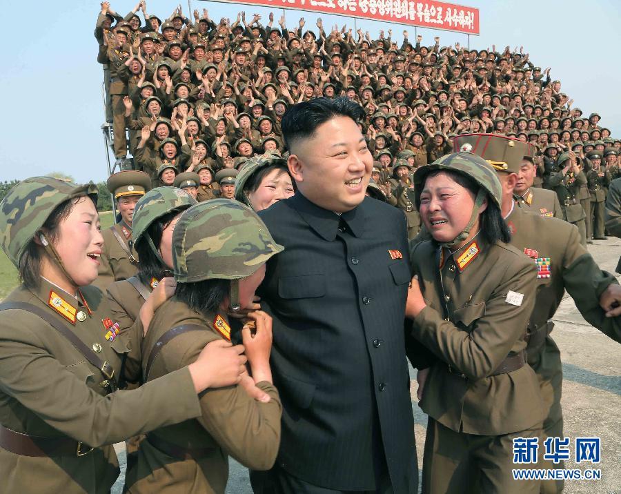 金正恩指导朝鲜女兵发射火箭弹 女兵激动大哭 - 鸿福齐天(*^_^*) - ---超级陈帅哥!(^o^)/~