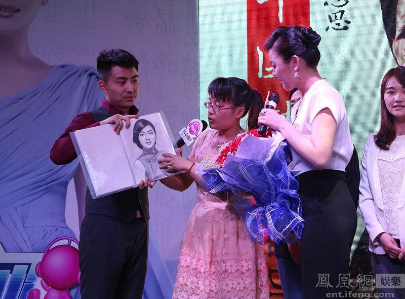 陈思思专辑 中国梦 成都发布 现场为歌迷圆梦