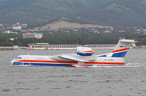 俄罗斯别-200水上飞机(资料图)