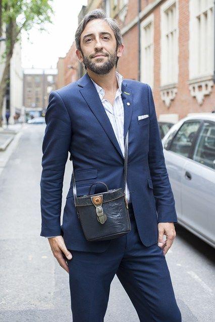 看伦敦男人时尚西装搭配