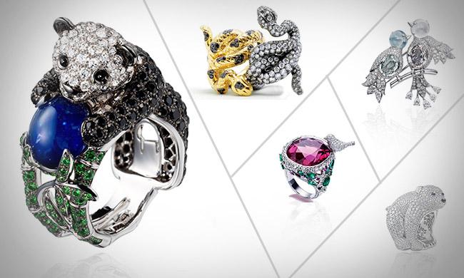 动物系列珠宝帮你圆梦
