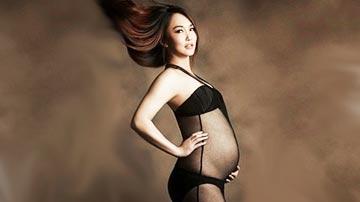 新加坡第一美女再曝大尺度孕照