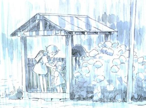 宫崎骏四十年手稿再现动漫经典