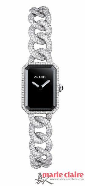 腕表品牌:Chanel香奈儿 Premiere链条腕表.-时髦简约的 链条 腕表