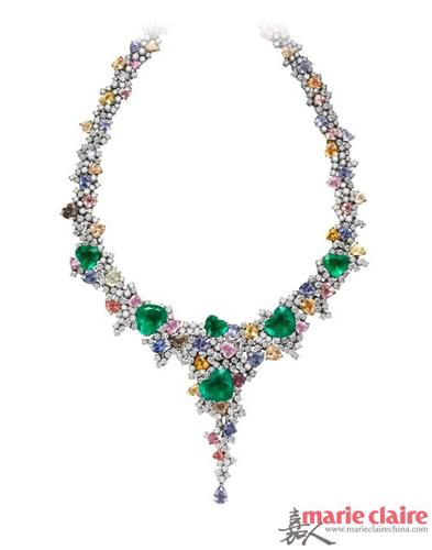 太阳星光,fancycd高级珠宝设计师用绝世美艳的星光红