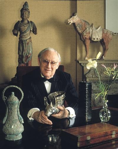 古董教父安思远去世 欧美收藏中国艺术黄金时代结束