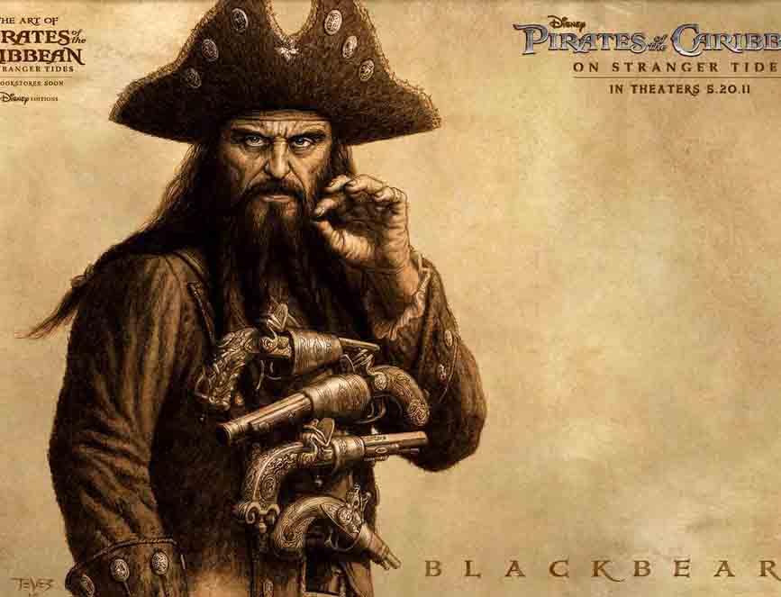 真正的加勒比海盗:黑胡子