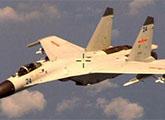 中国战斗机挂导弹拦截美军侦察机