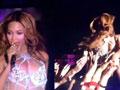 碧昂斯演唱会现场对嘴被抓包
