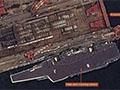 美国卫星拍到辽宁舰最新照片 甲板重新划线