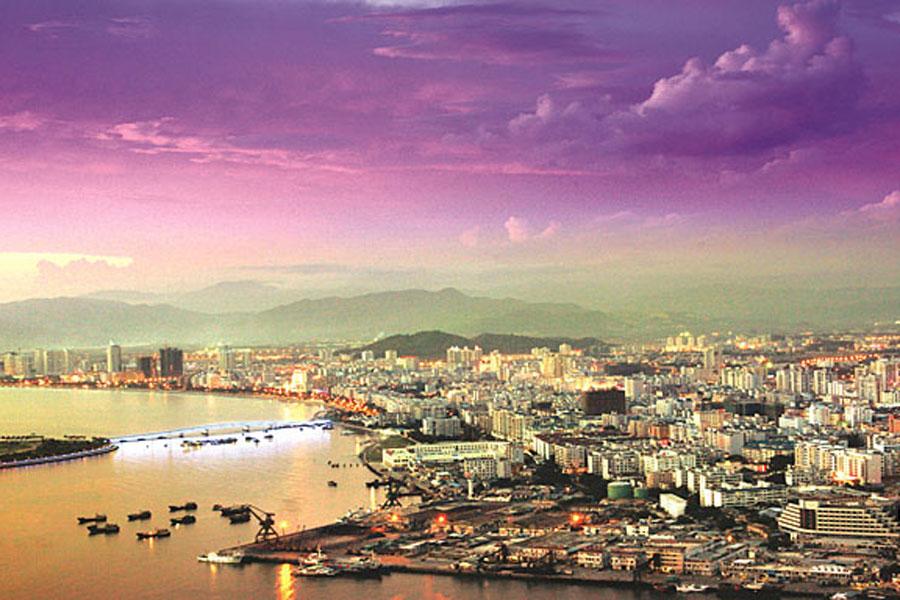 环海南岛自行车赛城市介绍