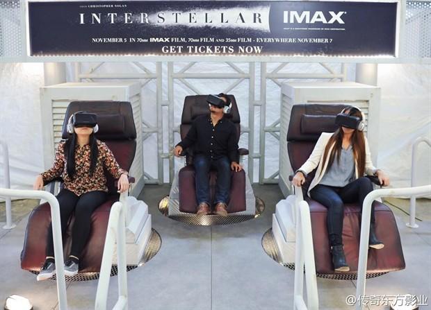 《星际穿越》虚拟现实版放映会 诺兰影迷体验真实穿越