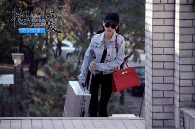 《微爱》发威女特辑 Angelababy诠释女版变形金刚