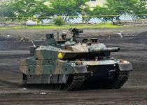 实拍日本三款坦克性能对比