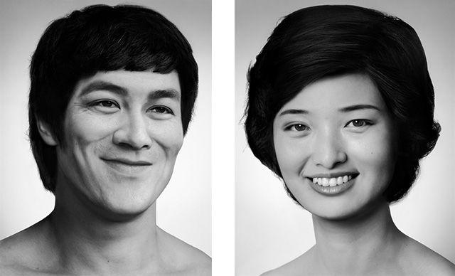 右:人工剧团-山口百惠(2013)-假摄影 中国人的群体记忆图片