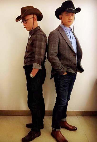 """《非诚勿扰》美国专场今晚开播 孟非黄磊变""""西部牛仔"""" _凤凰娱乐"""