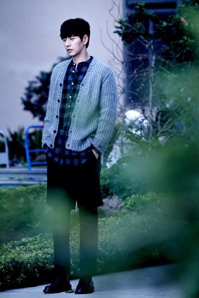 韩国男生网红头像大长腿