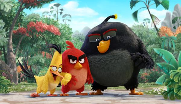 《愤怒的小鸟》2016提前上映 躲避强敌《人猿泰山》