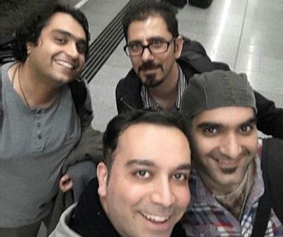 体育记者Milad Hojjatoleslami、Hossein Javadi