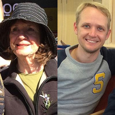 Carol Friday 和儿子Grieg Friday