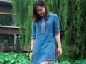 青洋布衣(蓝)