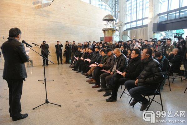 中国美院美术馆1:1计划系列展首展 苏新平对话邱志杰