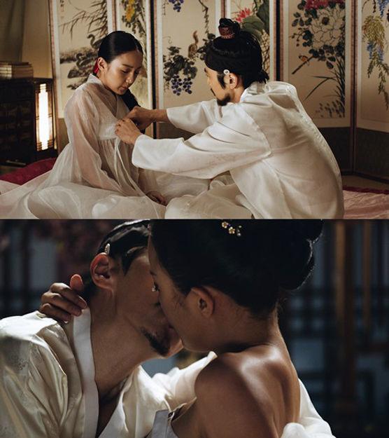韩国古装电影《于宇同》床戏曝光高清大图