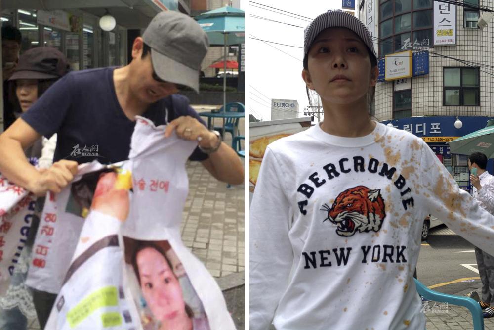 然而在今年6月近一个月的抗议中宓圆圆遭遇了各种非难甚至肢体攻击.