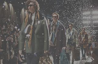 凤凰时尚直击2015伦敦男装周Burberry发布会