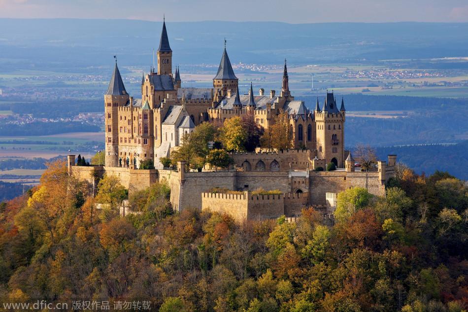 11. 德国霍亨索伦城堡.