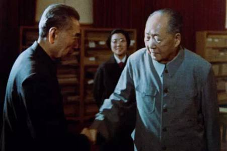 Image result for 毛周 最后的握手