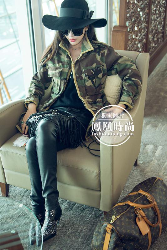 `中国时尚ICON陆陆lulu在Valentino2015巴黎春夏大秀惊艳秀场头拍 - 冬日暖陽 - 缘来如此心动