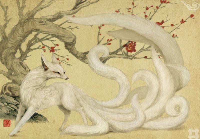 《山海经》中珍奇古兽 手绘还原 - li-han163 - 李 晗