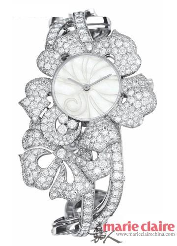 """奢华难以言""""表"""" 用珠宝腕表记录你的美好时分"""