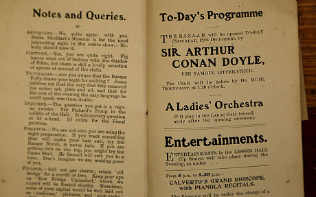 写于1904年之前福尔摩斯故事重见天日 曾于阁楼尘封